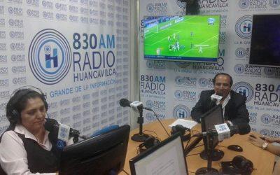Entrevista Radio Huancavilca